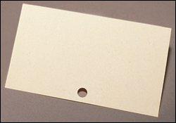 Perma Tech Wood Fiber Catalog Cards - Light Weight - 3