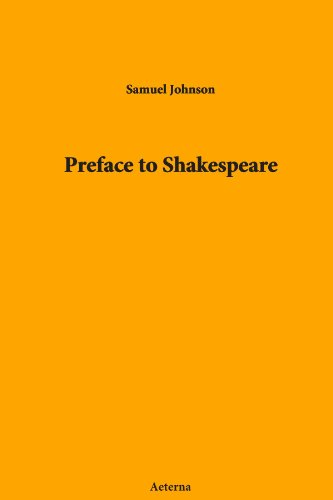 preface to shakespeare Samuel johnson: preface to shakespeare (eng) vidya-mitra loading unsubscribe from vidya-mitra cancel unsubscribe  life history of william shakespeare in hindi.