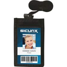- SICURIX Carrying Case (Pouch) for Business Card - Vertical