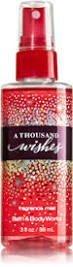 Bath and Body Works a Thousand Wishes Mini Fragrance Mist 3 Oz