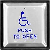 Handicap Door Push Button Wired Model by CareProdx