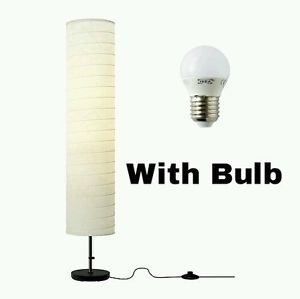 Ikea Holmo Floor Lamp (Lamp + Bulb Set)
