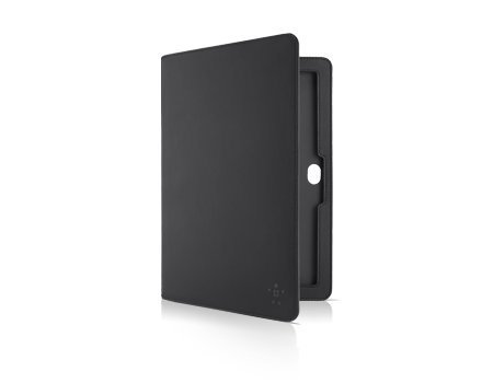 Belkin Black Leather Folio Case - Samsung Ativ Smart Pc