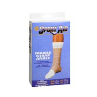 Sport Aid Double Strap Ankle Support, Extra Large each by Sport Aid (Pack of 3) by SportAid
