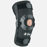 Breg PTO AirMesh Patella Stabilizing Knee Brace (Left)- Medium by Breg Braces