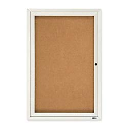 (Quartet Enclosed Cork Indoor Bulletin Board, 2 x 3 Feet, Aluminum Frame (2363))