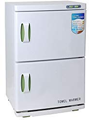 Sky Bay Hot Towel Warmer UV Sterilizer Cabinet , Professional Hot Towel Warmer Cabinet for Massage Beauty Salon Spa Facial - 46L