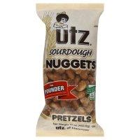 Utz Pretzels, Nuggets, Sourdough, 16 oz, (pack of 3)