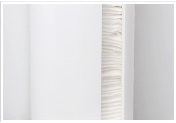Soporte de pared para cosm/éticos y almohadillas de algod/ón Hilai dispensador con aperturas de f/ácil acceso