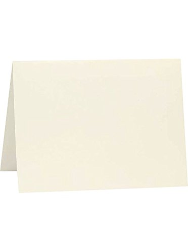 A2 Folded Card (4 1/4 x 5 1/2) - Natural (50 Qty) | Perfect for Invitations, Announcements, Sending Cards | ()