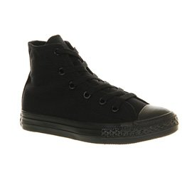 Converse CT All Star Special HI Black Kids Trainers Black Mono