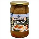Yehuda Gelfilte Fish Sweet No MSG 24 Oz. Pack Of 6.