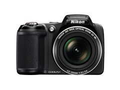 Nikon Coolpix L320 16.1MP Digital Camera with 26x Optical Zoom – BLACK