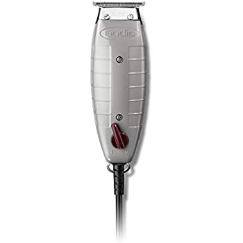 Andis Professional T-Outliner Beard/Hair Trimmer with T-Blade, Gray, Model GTO (04710)