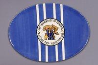 Magnolia Lane Collegiate Ceramic Mascot Platter (Kentucky Wildcats) ()