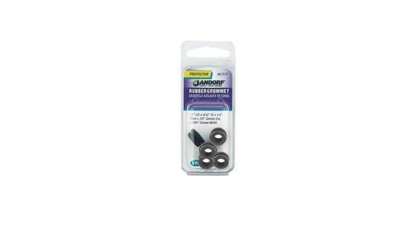 Jandorf Specialty Hardw Grommet Rubber 15//16 Od 61519