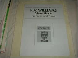 Download EPUB Free R.Vaughan Williams. Silent Noon Key of F for Voice and Piano. D.G.Rossetti