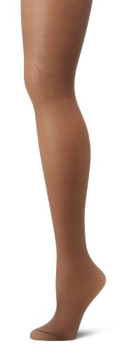 - Hanes Silk Reflections Women's Alive Full Support Control Top Pantyhose, Barely Black, A