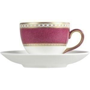 Wedgwood Ulander Powder Ruby Leigh Teacup (Cup (Wedgwood Ulander Powder)