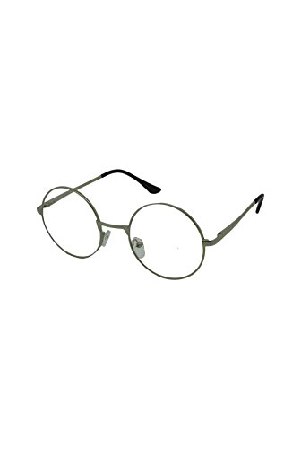 Finecy Frame soleil Clear With In de taille Homme Lens Lunettes Silver unique rqrB8T