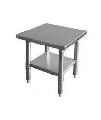 Flat Top Table (TigerChef TC-20220 Flat Top Work Table, SLWT42418F, 24