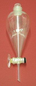 SEOH Separatory Funnel Borosilicate Glass Stopcock 1000 ml