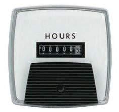 "Yokogawa 240312AAAB - Elapsed Time Meter - 3.5"", 6-Digit, 120V, Resettable - Hours"