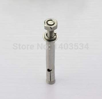 5pcs 660mm Stainless Steel Expansion Screws for Wall Nut /& Bolt