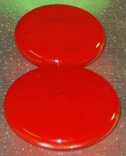 Baton Practice Caps, Red