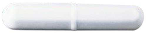 Bel-Art Spinbar Teflon Octagon Magnetic Stirring Bar; 25.4 x 9.5mm, White (Bel Art Stir Bar)