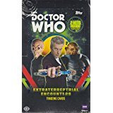 "This is a factory Sealed HOBBY box of the newest Doctor Who. I think there are 24 sealed packs of trading cards in each HOBBY box, and the term ""hits"" generally means Autographed Trading Cards by Cast Members, Costume Cards of clothing worn in the sh..."