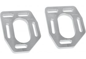 (Steeda Caster Camber Aluminum Top Plate Upgrade for 1990-93 Ford Mustang)