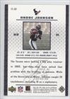 Andre Johnson (Football Card) 2003 Upper Deck MVP - Talk of the Town #TT-87