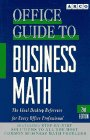 Office Guide to Business Mathematics, Barbara Erdsneker, 0671896628