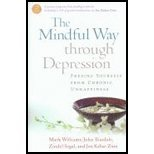 Mindful Way Through Depression (07) by [Paperback (2007)]