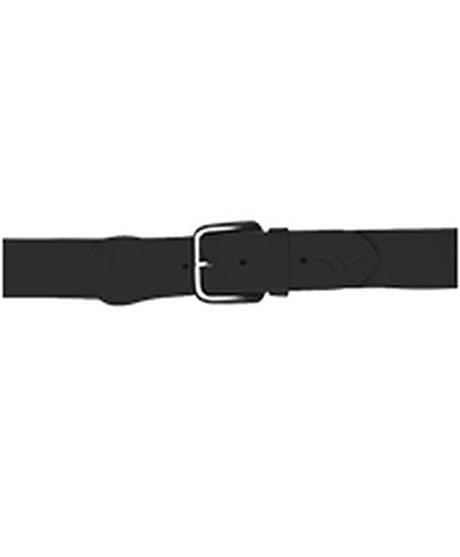 Alleson YOUTH BASEBALL BELT 1.5 WIDTH BLACK L 3BBY - Alleson Athletic Belt Youth