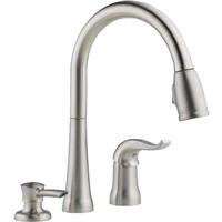 Delta Faucet Kate Single-Handle Kitchen Sink Faucet with Pull Down Sprayer