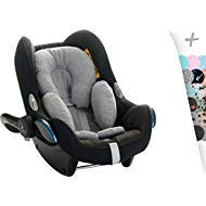 Janabebé Reducer Cushion Infant Head & Baby Body Support Antiallergic (Stone Grey)