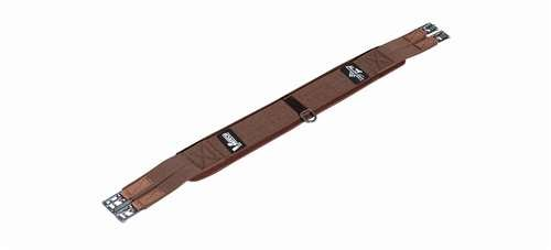 Professionals Choice Equine Ventech English Girth (Size 52-Inch, Chocolate Brown)