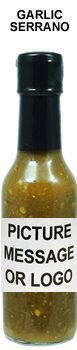 - Private Label Hot Sauce - Garlic Serrano (48 bottles)