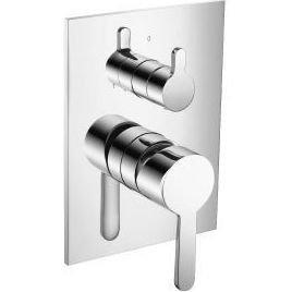 Isenberg 180.2100CP Serie 180 2-Way Pressure Balance Valve and Tub Shower Trim, 180.2100, Polished Chrome