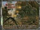 Starship Troopers - M-14A POWER SUIT SQUAD miniatures