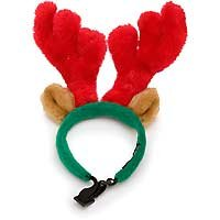 Kyjen Holiday Red and Green Standard Antlers – Small, My Pet Supplies