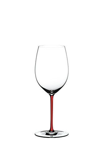 Riedel Fatto A Mano Cabernet Wine Glass, Red (Glasses Pink Riedel Wine)