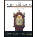 The American Nation : School Binding, Carnes and Garraty, 0131943308
