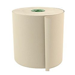 Cascades(R) Tandem(R) Roll Towels, 100% Recycled, Ivory, 775ft. Per Roll, Case Of 6 Rolls