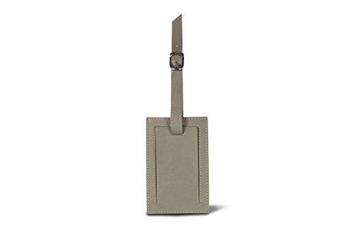 Lucrin - Kofferanhänger - Gelb - Glattleder Hellbraun