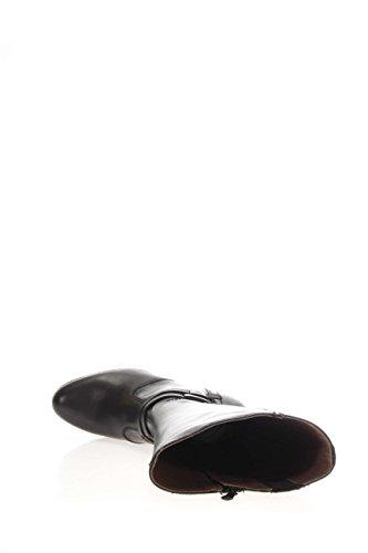 Negro Giardini–Zapatos de Mujer - Botas A616412D-100Botas con tacón de plataforma de 7cm negro