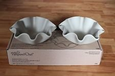 The Pampered Chef Tortilla Shell Baker Set (New Set of 2) #1386