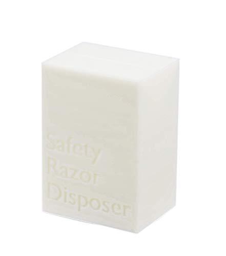 Intulon Safety Razor Disposer/Razor Disposal Case (Off White)